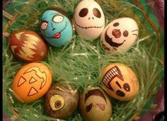 nightmare before christmas easter eggs!
