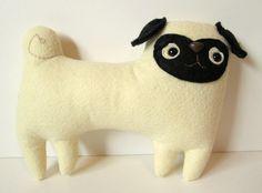 Cush and Nooks: Pug Love