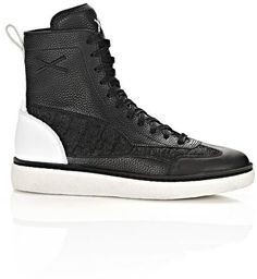Pin for Later: Alexander Wang and The Weeknd Created the Ultimate Cool-Kid Collaboration  Alexander Wang WangXO Eden High Leather Sneakers ($575)