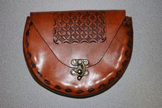 Picture of Medieval Leather Pouch