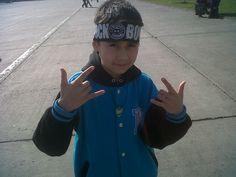 Mi hijo y su primer concierto: Rock Bones