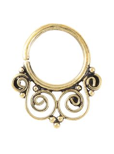 Everyone nose you want this septum hoop.