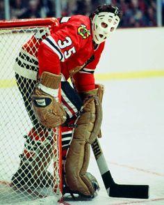 Tony Esposito, Chicago Blackhawks - TONY......TONY........TONY........TONY Best goalie ever!