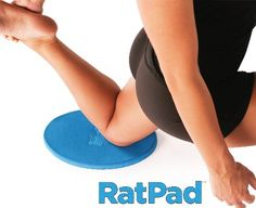 "RatPad™ - The Original Yoga Pad. Put More Comfort In Your Practice. 1"" thick YogaRat,http://www.amazon.com/dp/B00A30BEWU/ref=cm_sw_r_pi_dp_IrbEsb0Q7EA9A780"