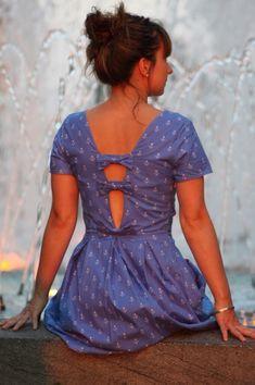 Seaside dress par fildanna - thread&needles