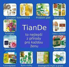 Tiande výrobky :: Tiande-nadova-monika Deodorant, Aloe Vera, Natural Health, Health And Beauty, Detox, Chicago