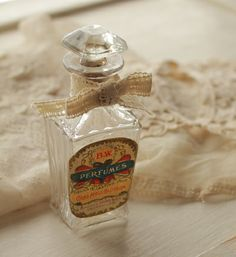 Antique perfume buttle.