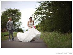 every girl needs to twirl. #Wedding #Jasmine Star