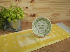 Coupelle publicitaire Calvados BUSNEL en porcelaine de GIEN France | Décoration…