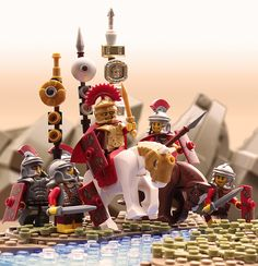 The battle of Tigranocerta by mark of falworth on Flickr