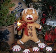 Patti's Ratties Gingerbread boy