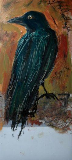 Carol Collicutt  Blue Crow