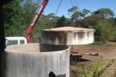 Beat the heat: converting a water tank to a plunge pool