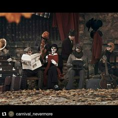 "Грядет клип!!!! ""The Last Libertango of Fall"" от CARNIVAL NEVERMORE Coming soon... #music #dark_cabaret #darkcabaret #steampunk #orchestra #strangerthings #novel #theatre #circus #carnivalnevermore #carnival_nevermore #timburtonstyle #art #musically #musicvideo #кабаре #дарккабаре #vintage #steampunkstyle #odessa #одесса #clown #photo #it #timburton.   Всем любителям дарк-кабаре, стимпанка, городского фэнтези и просто красивых грустных историй ПОСВЯЩАЕТСЯ!!! Ваши Carnival Nevermore..."
