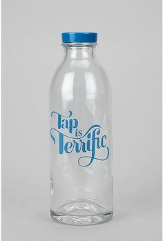 Faucet Face Glass Water Bottle Online Only Water Bottle Online, Glass Water Bottle, Vintage Dorm, Water Facts, Pet Bottle, Dinnerware Sets, Drinking Water, Kitchen Accessories, Drink Bottles