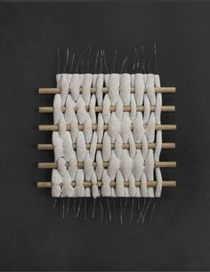 shaped wires become solid forms when heated from current and covered in recycled 3d printing nylon waste powder & sand | seongil choi and fabio hendry | Hot Wire Extensions