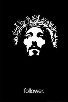silhouette of jesus face - Google Search