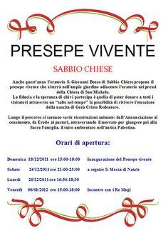 Presepe vivente a Sabbio Chiese  http://www.panesalamina.com/2011/910-presepe-vivente-a-sabbio-chiese.html