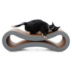 Cardboard Cat Scratcher Lounge (86x27x27 CM).