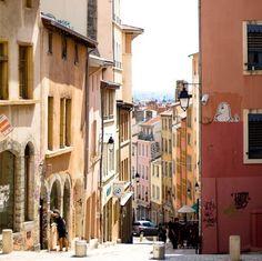 Les rues étroites de #Lyon