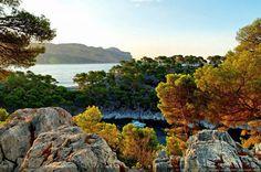 Calanque de Port Miou et baie de Cassis - [Littoral de Provence, entre Cassis et Marseille :  Le Parc National des Calanques]