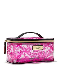 Shop beauty, perfumes & accessories by Victoria's Secret & PINK. Complete your look with Eau de Parfum, scented lotions & mists, plus up-to-the-minute fashion accessories and body care products. Fashion Handbags, Fashion Bags, Fashion Outfits, Pink Makeup Bag, Makeup Bags, Avon, Camo Purse, Duffle Bag Travel, Victoria Secret Bags
