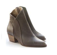 New Women boots. Africa-Gray Booties. Women heels by LieblingShoes