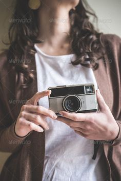 Realistic Graphic DOWNLOAD (.ai, .psd) :: http://hardcast.de/pinterest-itmid-1006776678i.html ... close up of hands woman with old camera ...  beautiful, brunette, camera, casual, caucasian, close up, girl, hands, holding, home, indoor, lifestyle, old, photo, photographer, pics, picture, retro, shooting, style, taking, vintage, woman  ... Realistic Photo Graphic Print Obejct Business Web Elements Illustration Design Templates ... DOWNLOAD…