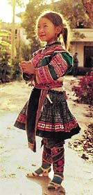 A young Miao girl in Yunnan Province - I would most definitely wear all these pieces.
