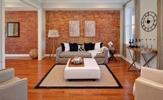 From BobVila.com Although exposed brick offers a warm, appealing aesthetic, you may bepuzzled by the question of how to hang pictures on such a wall. Whereas drywall or plaster yield easily to a n...