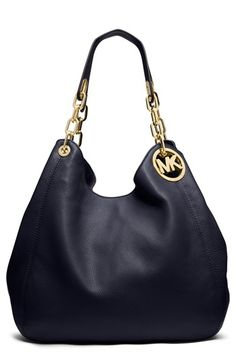 MICHAEL Michael Kors 'Large Fulton' Leather Tote available at #Nordstrom - LOVE IT.