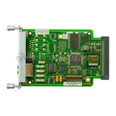 VWIC2-2MFT-T1/E1 Router Multiflex Voice/WAN interface Card for $990