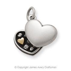 Hearts bracelet - Box of Chocolates Charm from James Avery