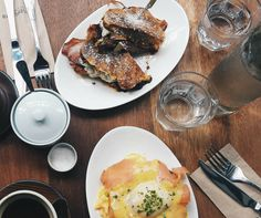 French toast, breakfast burritos and Monte Crisco's for brunch - we're still serving until 3pm!