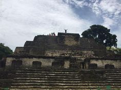 Jay Boodheshwar in Altun Ha, Belize. 808 miles from the Town of Palm Beach United Way office.