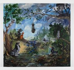 Ozbolt Our Voodoo Master, 2009  Acrylic on board  170 x 180 cm / 66 7/8 x 70 7/8 in