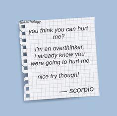 Scorpio Zodiac Facts, Scorpio Traits, My Zodiac Sign, Zodiac Quotes, Astrology, Texts, Appreciation, Aesthetics, Meme