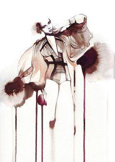 Petra Dufkova - International Fashion & Beauty Illustrator, Munich