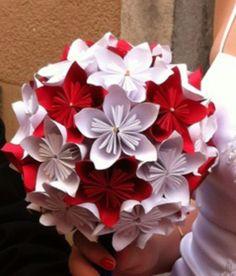 Tutoriel bouquet de fleurs en papier                              …