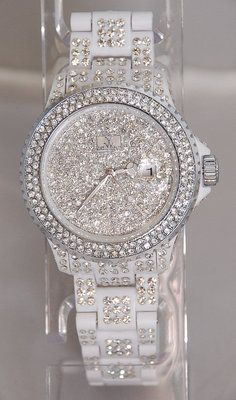 Hate the white. Love the sparkles