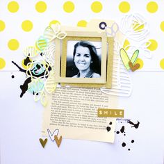 Smile_Scraplift Kim Stewart by jara at @studio_calico