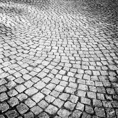 Granite cobblestones, Valley Forge, PA, ADBarron©9/30/13 [iPhone 4s;Hipstamatic]