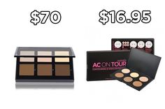 Try Australis AC On Tour Contour Kit instead of Anastasia Beverly Hills Original Contour Kit and save $53.