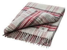 Heritage Plaid Italian Woool Blend Throw by Gallery Direct