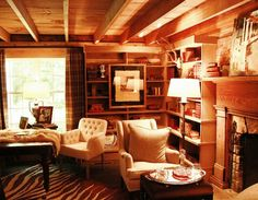 and I am having these dreams of plaid curtains... see this room from the Shannon Berrey Design Blog