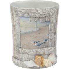 Creative Bath™ At The Beach Wastebasket  found at @JCPenney