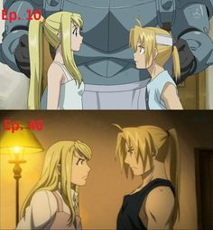 Edward Elric grew.