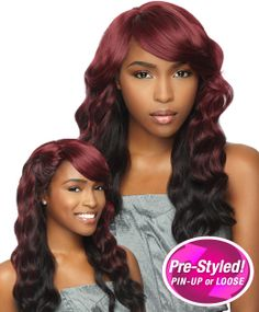 Wig Extension Sale - Sensationnel Synthetic Half Wig Totally Instant Weave 2 In 1 LAVENDER http://www.wigextensionsale.com/products/sensationnel-synthetic-half-wig-totally-instant-weave-2-in-1-lavender.html