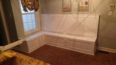 Banquette Construction on