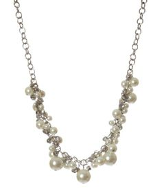 bootlegger.com : kismet chunky pearls necklace Pearl Necklace, Pearls, Chain, Diamond, My Style, Pretty, Silver, Accessories, Christmas
